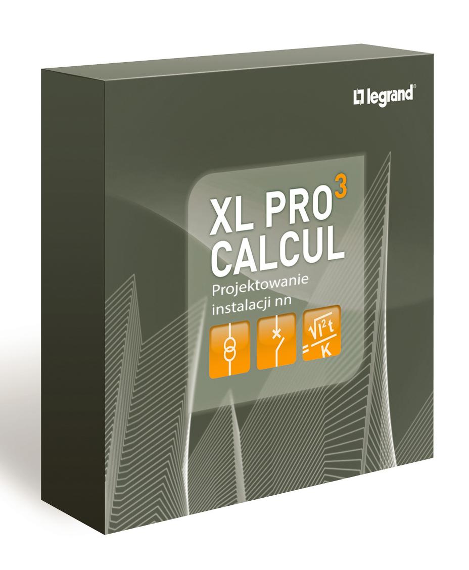 XL-Pro³ Calcul - program do projektowania instalacji elektrycznych niskiego napięcia