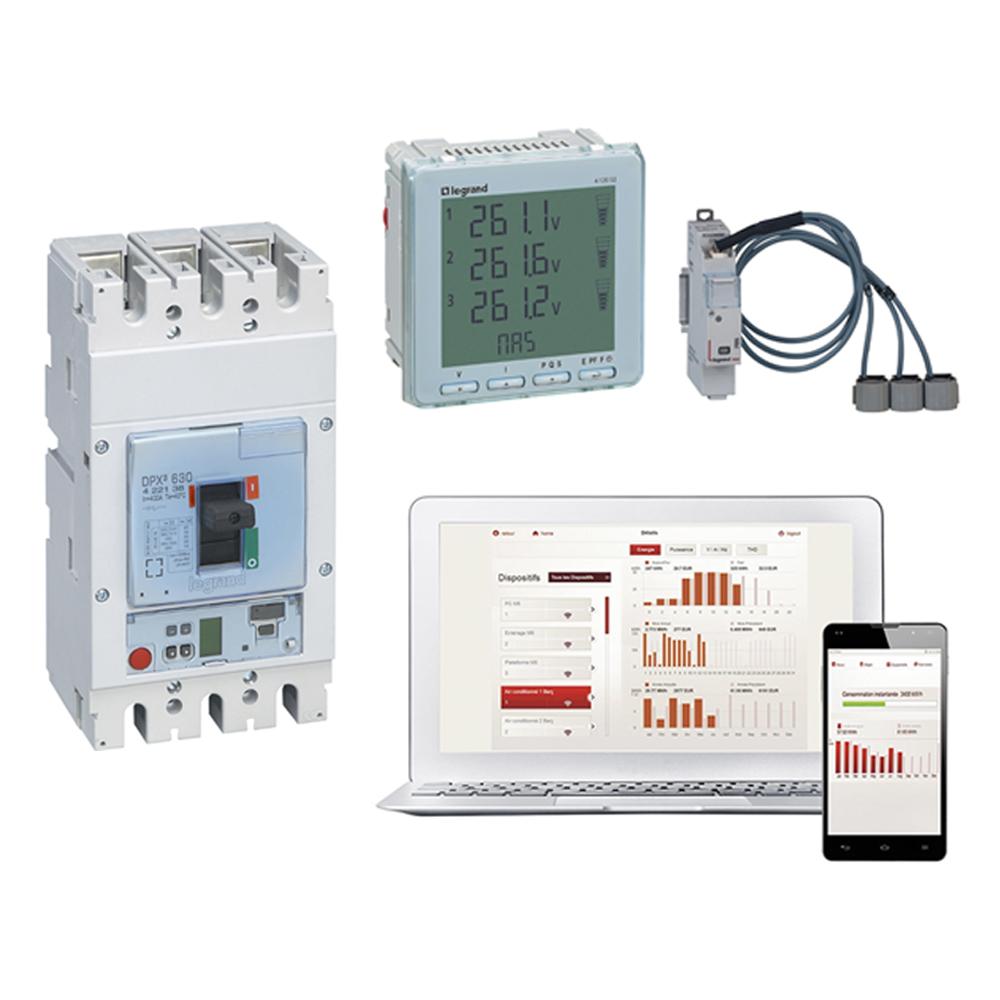 Komunikacja w rozdzielnicy i zarządzanie instalacją elektryczną w oparciu o rozwiązania Legrand